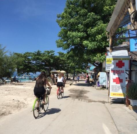 Aktivitas Di Obyek Wisata Gili Trawangan