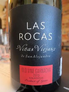 Las Rocas Vinas Viejas de San Alejandro Old Vine Garnacha 2013 - DO Catalayud, Spain (88+ pts)