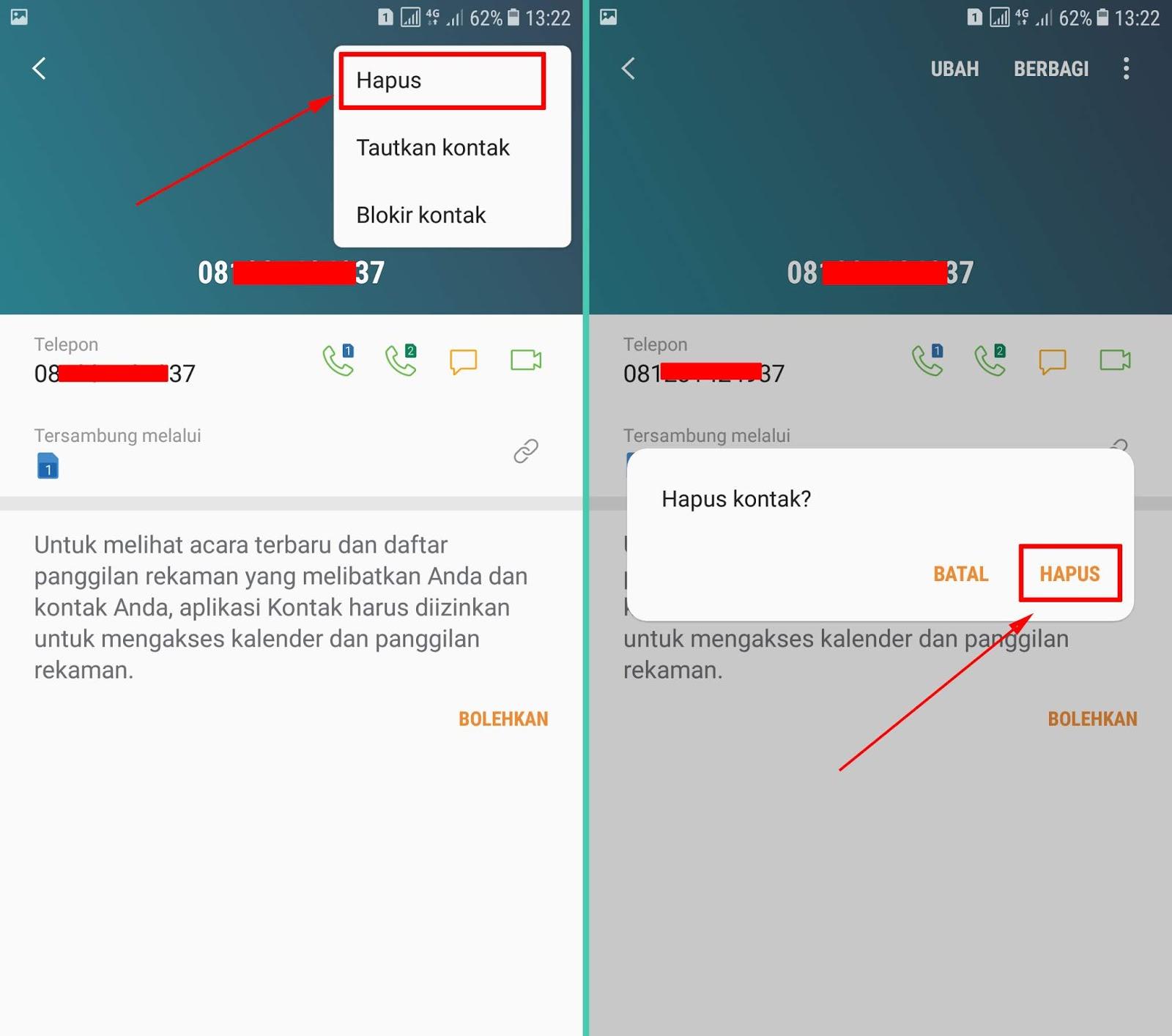 Cara Menghapus Kontak Di Whatsapp Wa Lengkap Espada Blog