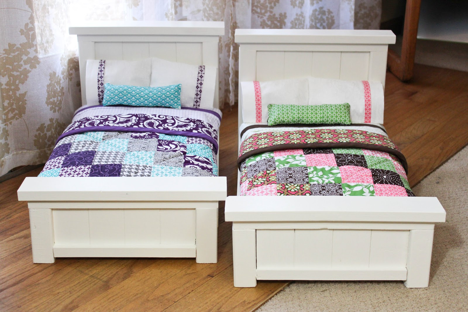Ana White Doll Bunk Bed