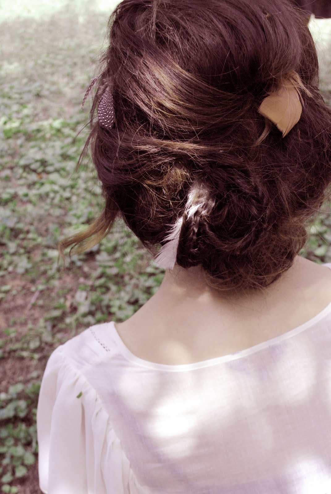 Ali Bee Photography Feather Updo Contest