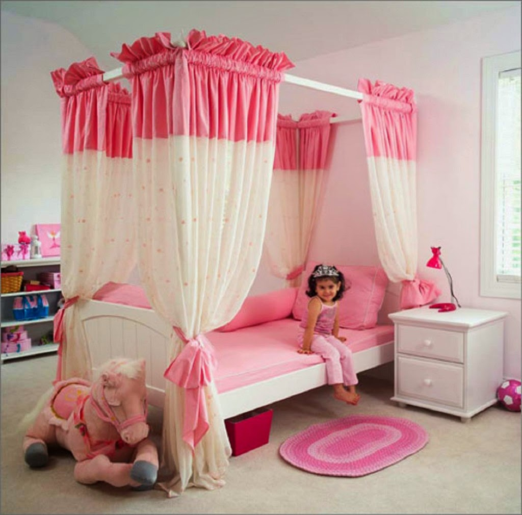 Bedroom Girly: Bedroom And Bathroom Ideas