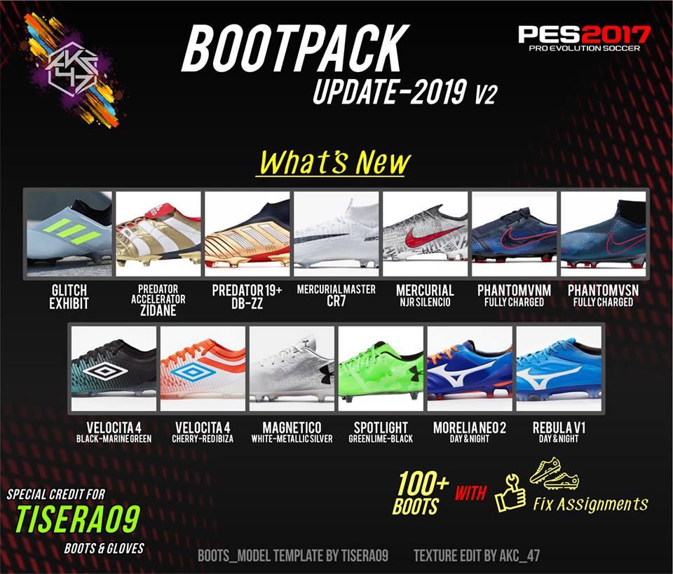 PES 2017 Bootpack Update 2019 v2