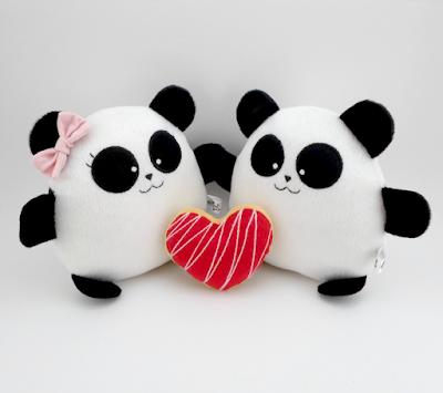 Pandy & Yossho de Peluche by Gattini gifts® Guyuminos pareja de osos panda