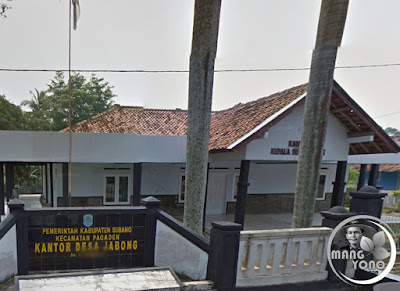 FOTO 1 : Kantor Desa Jabong, Kecamatan Pagaden