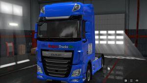 Skin Pack Blue Hungary Trucks Zrt