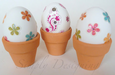 sticker eggs 03 Decorating Eggs with Stickers and Jewels 11