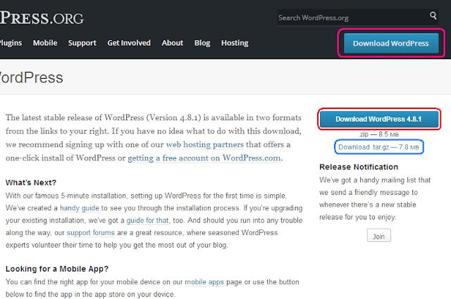 Cara Memasang Wordpress Di XAMPP 2