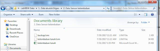 Gambar 4 21 Letak Folder penyimpanan Hasil Akuisisi data 3