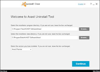 أداة, الغاء, تثبيت, وإزالة, برنامج, الافاست, من, الجذور, Avast ,Clear, اخر, اصدار
