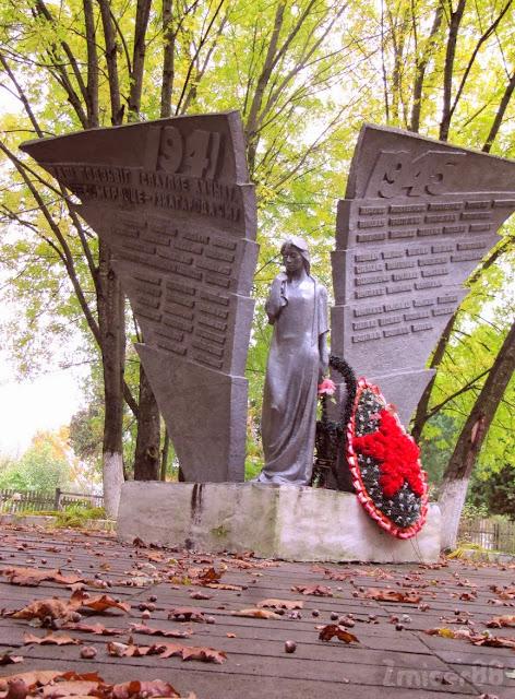 помнік жаўнерам другой сусветнай вайны Цешаўля