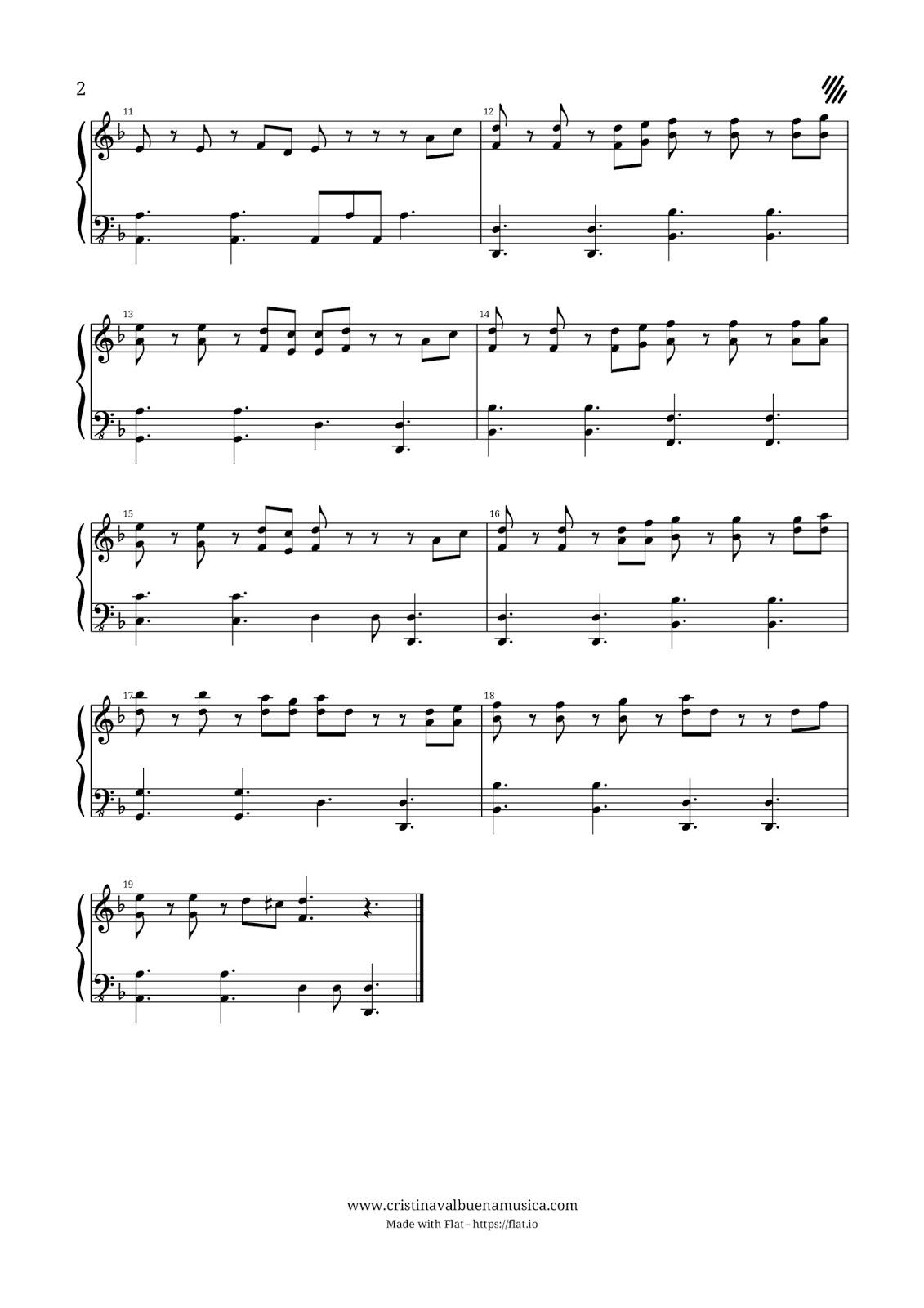 Partitura Facil Para Piano Bso Piratas Del Caribe He S A Pirate
