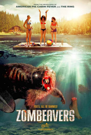 Zombeavers [2015] [DVDR] [NTSC] [Latino]