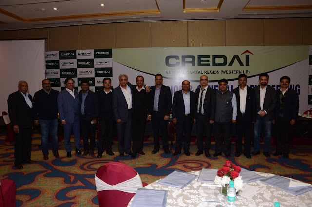 CREDAI Western UP Announces New Leadership Team