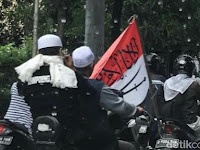 Tanggapan FPI Soal Pengakuan Pembawa Bendera Bertuliskan Arab