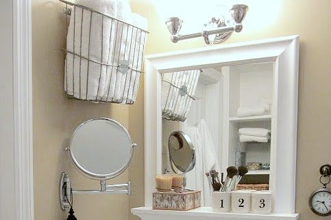 Tiny Master Bathroom Storage Solutions