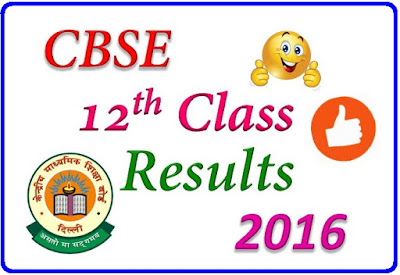 CBSE 12th Result 2016   cbse.nic.in Official site