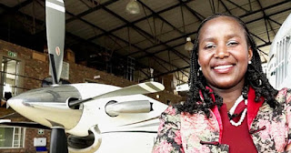 Sibongile Sambo, founder of SRS Aviation