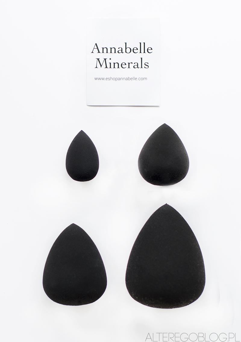 sofie, annabelle minerals, gąbki sofie, recenzja, blog kosmetyczny