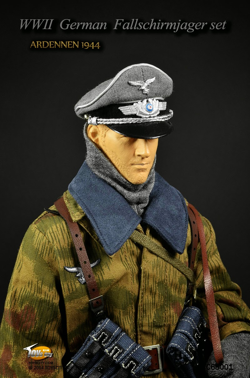toyhaven: Toys City #68001 1/6 scale WWII Ardennes 1944