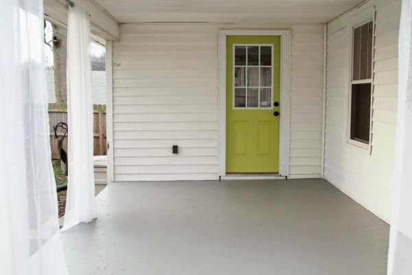 How To Repaint A Concrete Porch