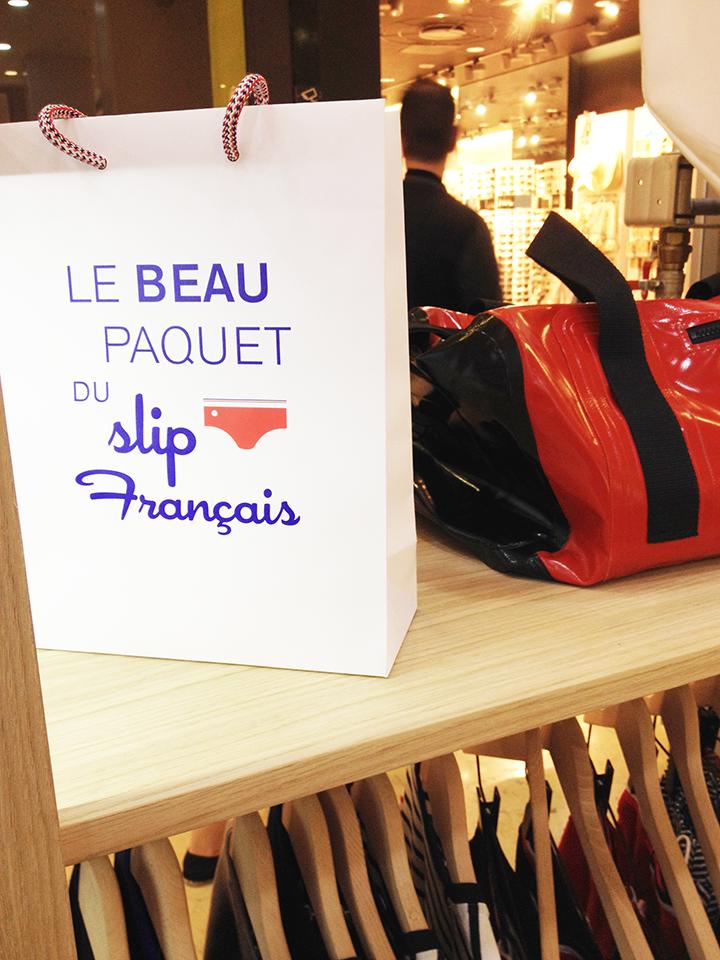 Pop-up Store Le Slip Français à Vélizy 2