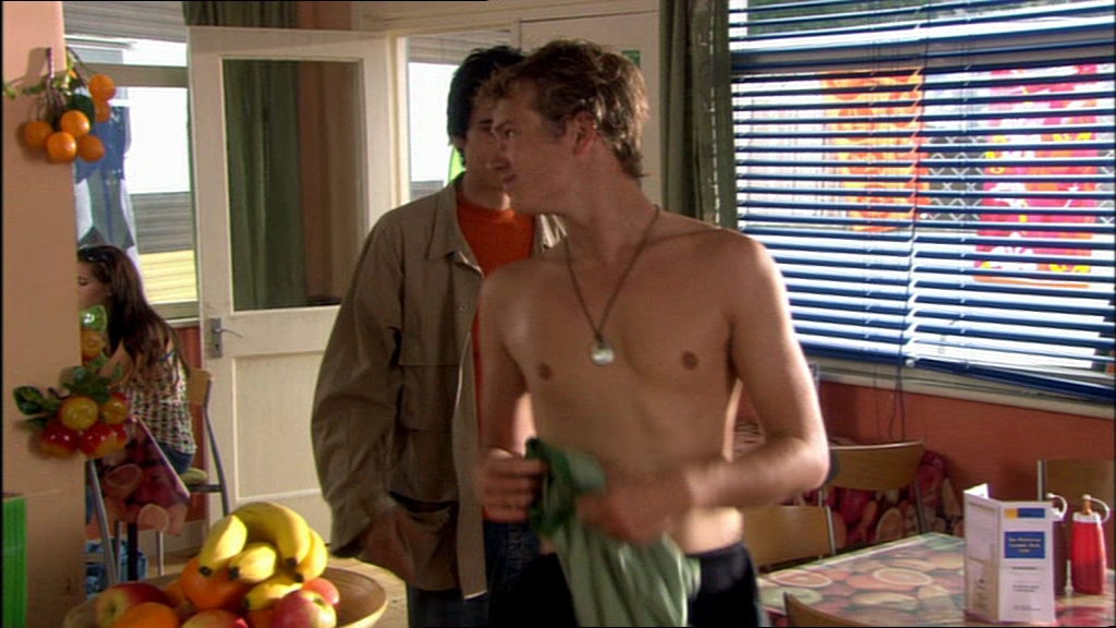 The Stars Come Out To Play: Ed Theakston - Shirtless