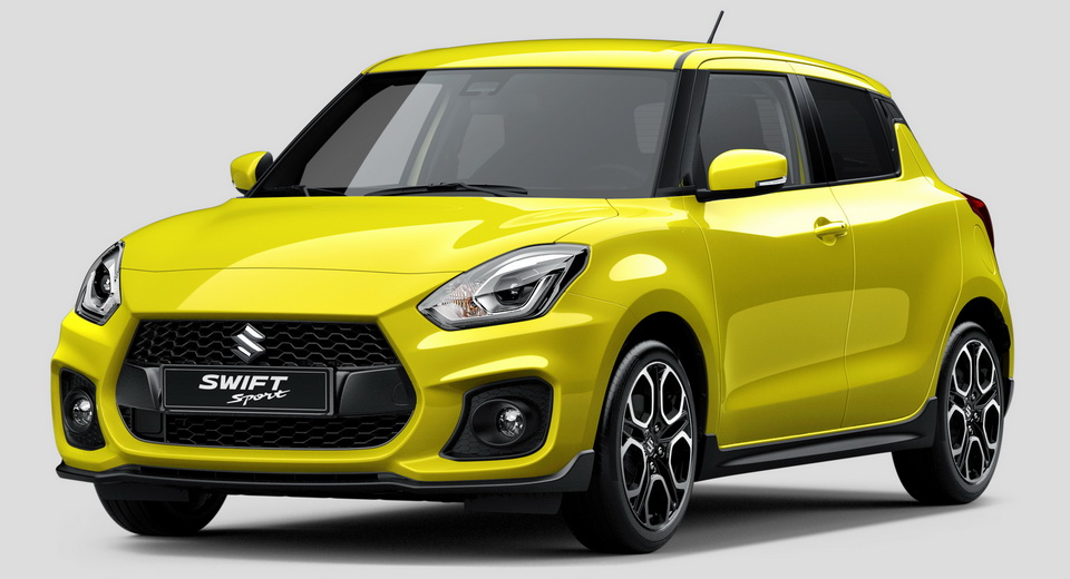 New Suzuki Swift Sport revealed ahead of full Frankfurt debut