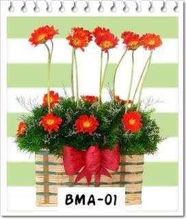 Bunga Meja Nan Indah