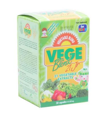 Vegeblend - Manfaat, Efek Samping, Dosis dan Harga