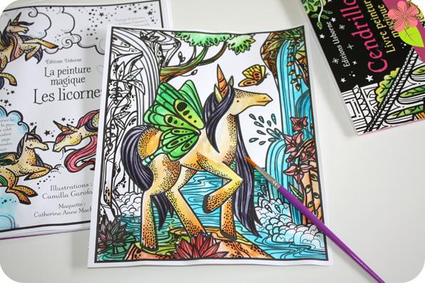 La peinture magique : Les licornes - Usborne