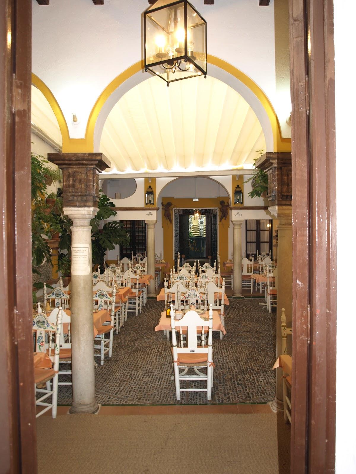 Sevilla Daily Photo Restaurante En Santa Cruz