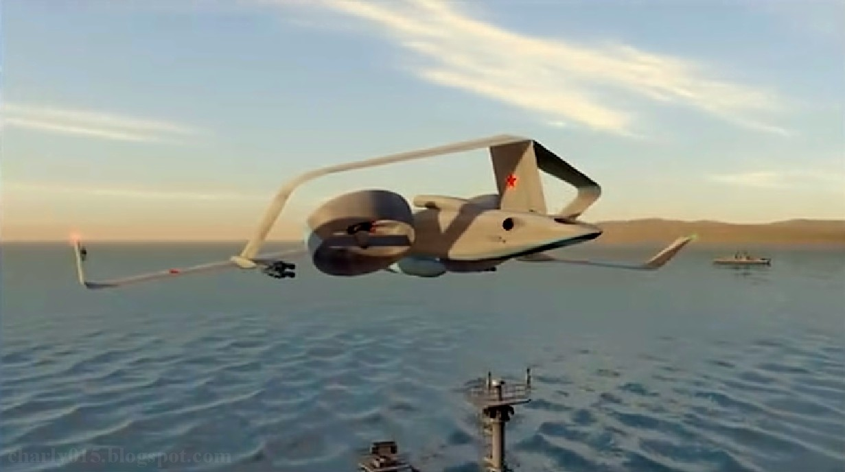 Future russian aircraft carriers. #2 - Page 2 Drone%2Bfregat%2B6