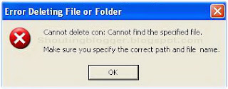 delete undeletable files and folder without software
