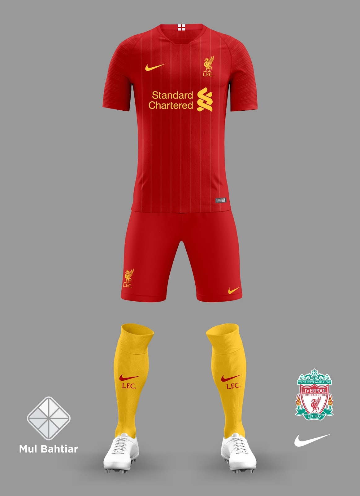reasonably priced new styles thoughts on LIVERPOOL 2018-2019 NIKE HOME KIT | Mul Bahtiar