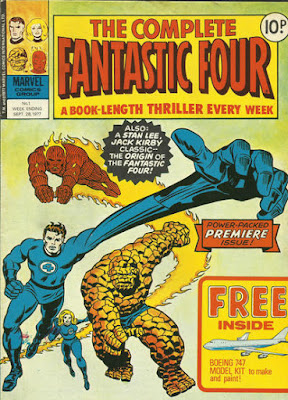 Marvel UK, Complete Fantastic Four #1