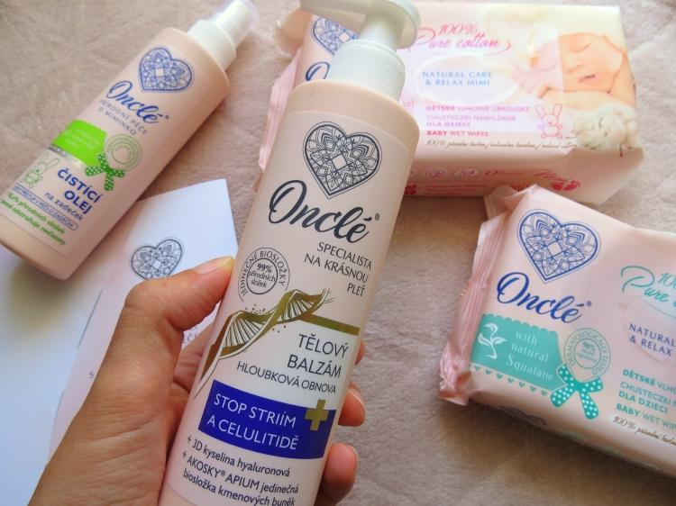onclé, ceska kosmetika oncle, prirodni kosmetika
