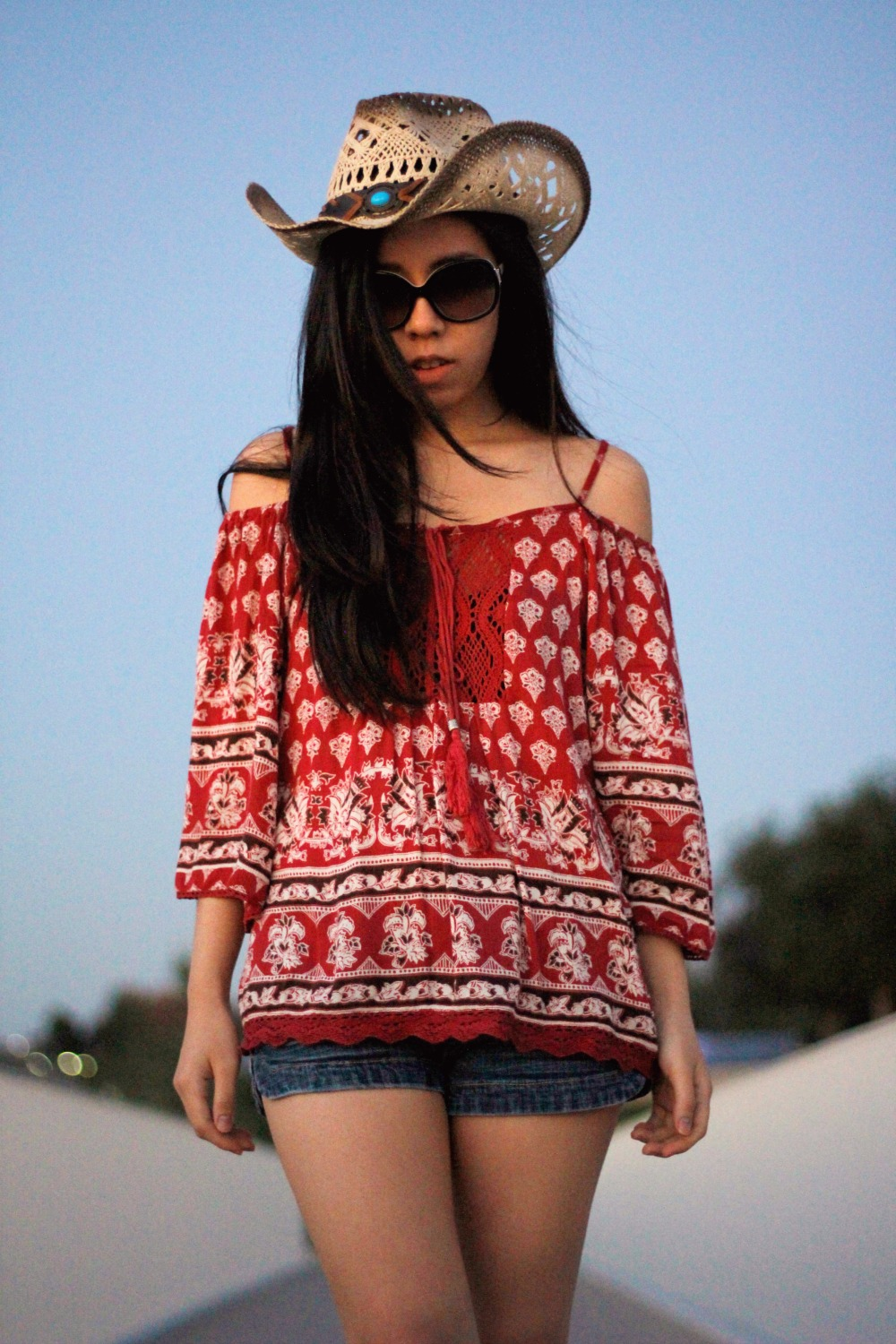 California Bohemian_Adrienne Nguyen_Boho_fashion blogger_san diego_Newport beach_fedora_off the shoulder_summer fashion