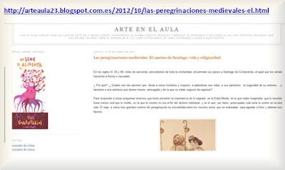http://arteaula23.blogspot.com.es/2012/10/las-peregrinaciones-medievales-el.html