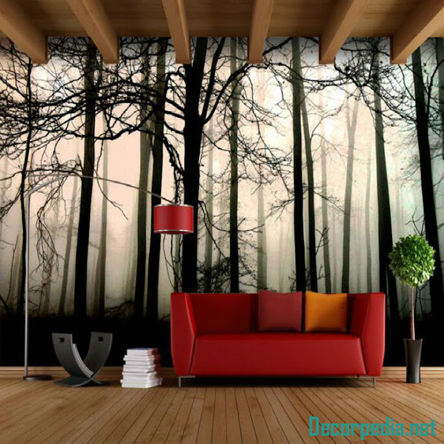 New 3D wallpaper murals and designs 2019