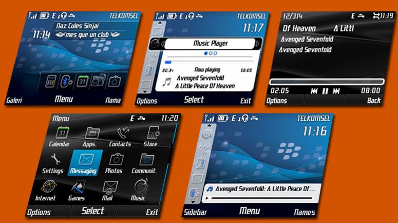 CFW Nokia X2-01 RM-709 Rasa Blackberry