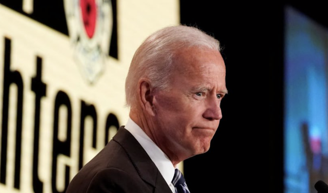 BIDEN SEEMS ANNOYED THE RAGE MOB MADE HIM APOLOGIZE FOR SAYING NICE THINGS ABOUT PENCE