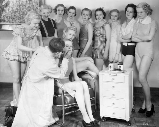 Mr. Max Factor The Makeup Genius at Work! | Time Warp Wives  ™  - Fashion & Beauty