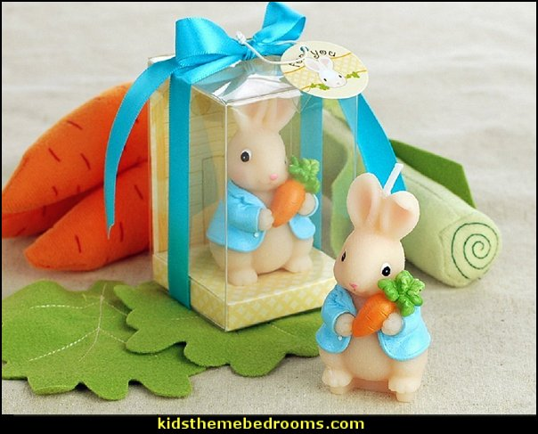 Peter Rabbit birthday Candle