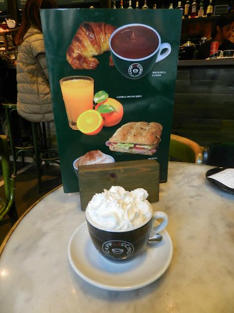 O que e onde comer em Barcelona - Cappukccino