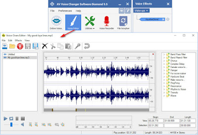 best voice changer for pc with built in voice editor