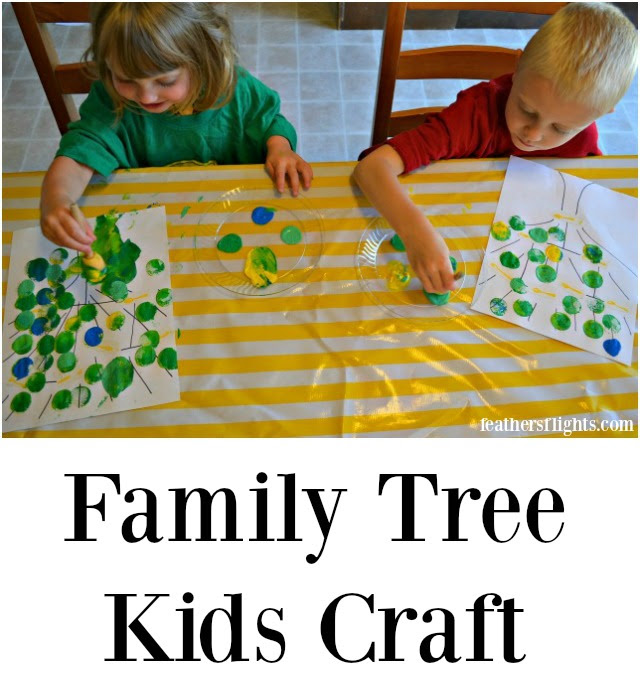 Family Tree Kids Craft