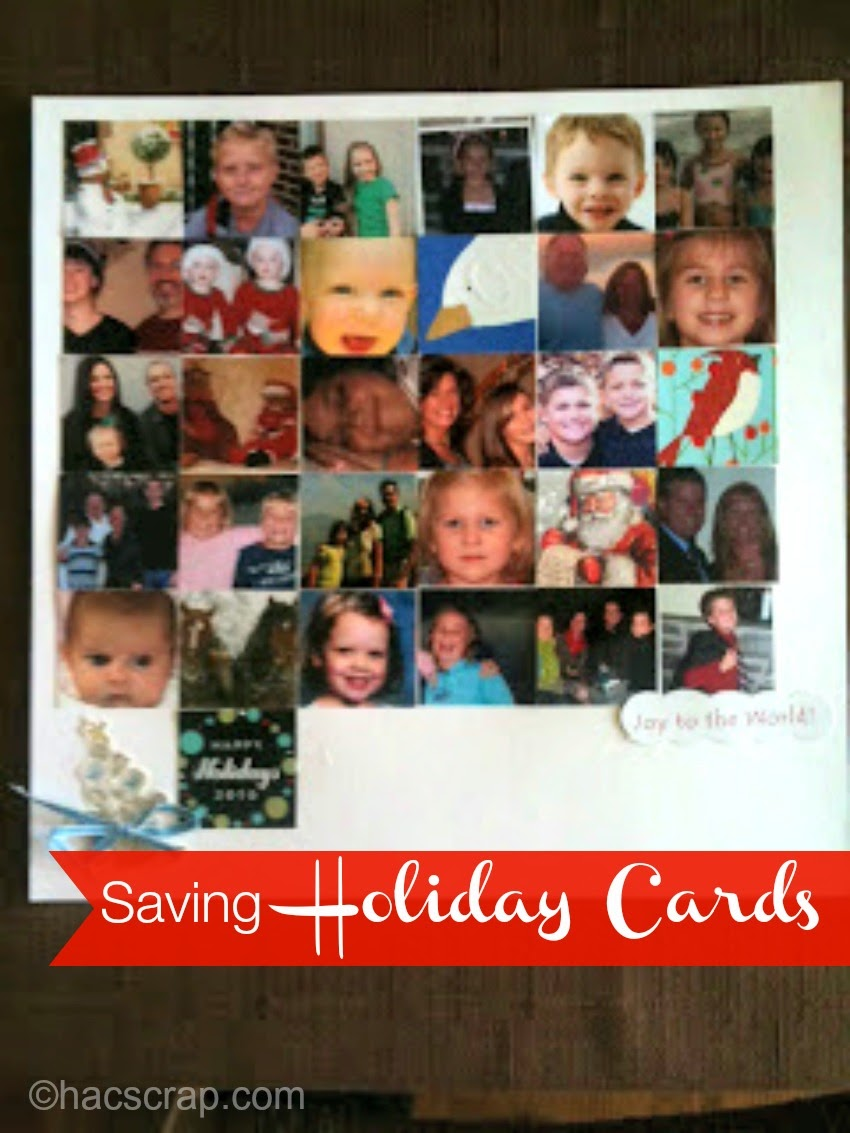 Save Holiday Cards without the Clutter