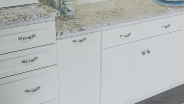 Fieldstone Cabinets White