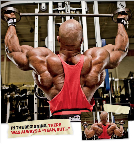 Back Workout Importance for Mr Olympia 2013